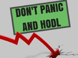 dalende cryptokoersen