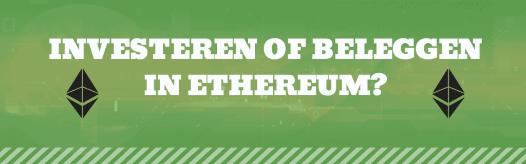 investeren in ethereum