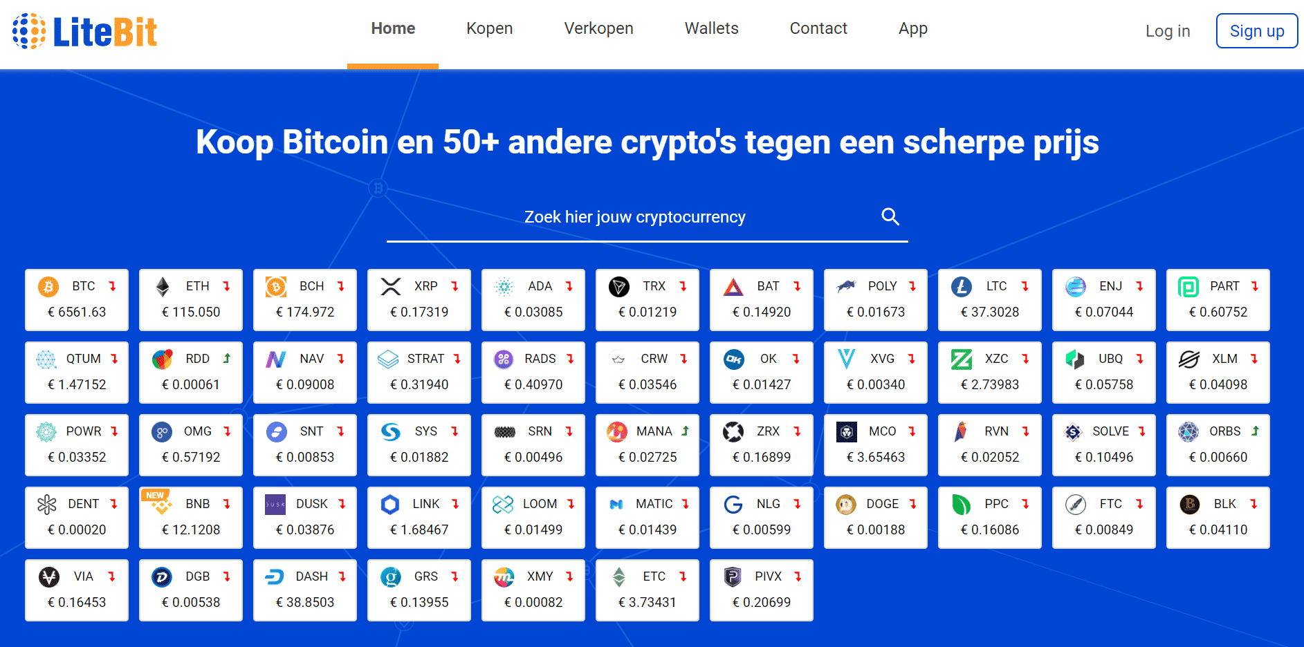 De Litebit website