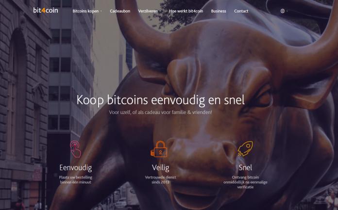 Bit4coin website